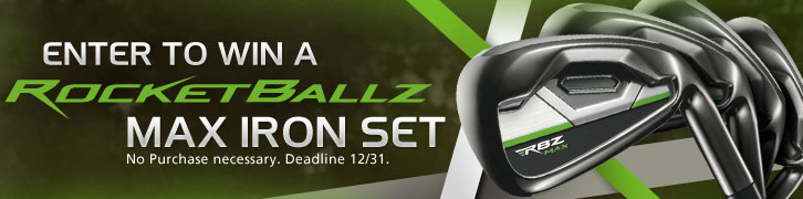 Enter to Win a Preowned TaylorMade RocketBallz Max Iron Set