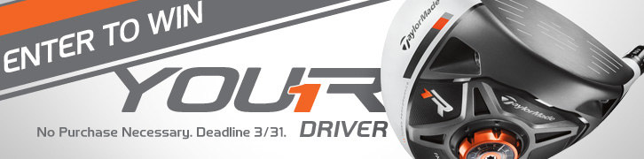 Enter to Win a Preowned TaylorMade R1 Driver