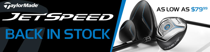 JetSpeed Clubs Back in Stock from $79.99