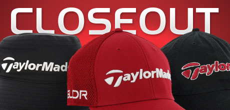 Closeout TaylorMade Headwear Starting at: $5.99