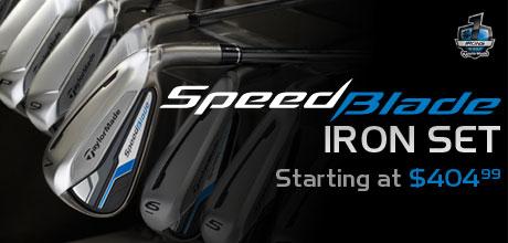 SpeedBlade Iron Set Starting at $404.99