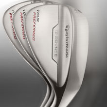 Enter to Win 3 Tour Preferred Wedges Gap, Sand and Lob