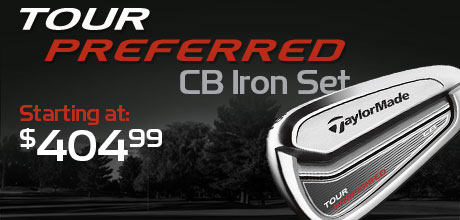 Tour Preferred CB Iron Set Starting at: $409.99
