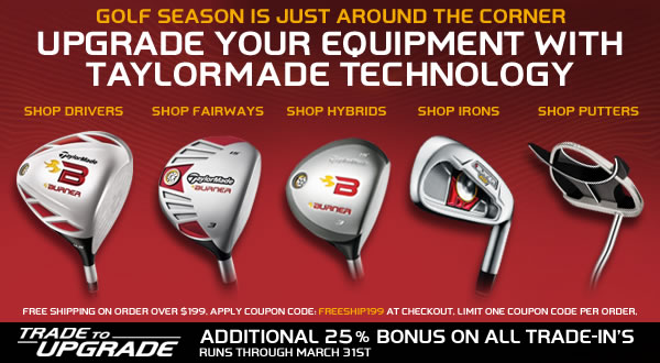 TaylorMade Golf Preowned Newsletter