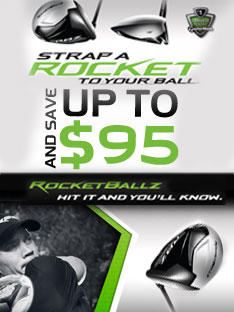 Strap a Rocket to your Ball and save up to $95 on Select RBZ Clubs